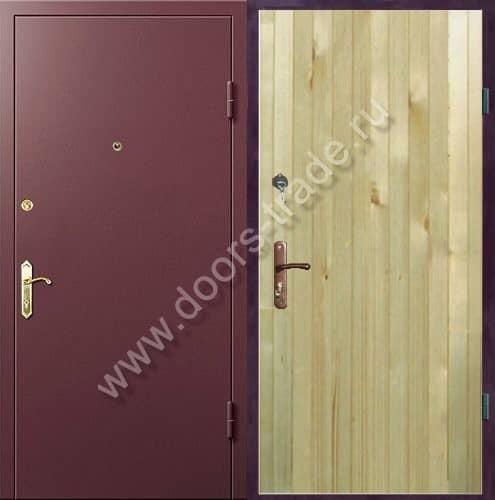 металлические двери для дачи чехов