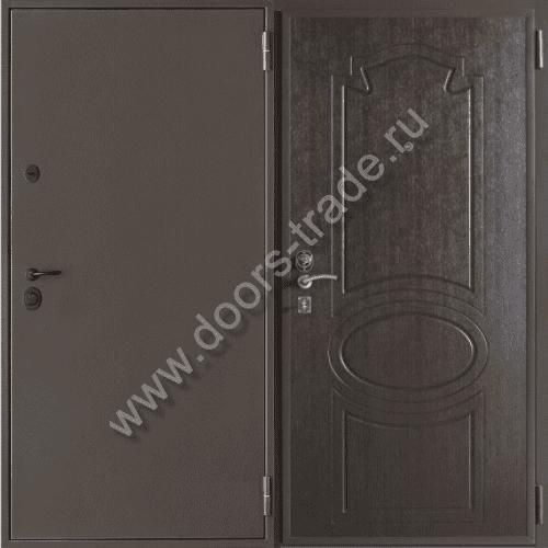 металлические антивандальные двери в дом