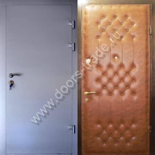 железная дверь в квартиру в дмитрове